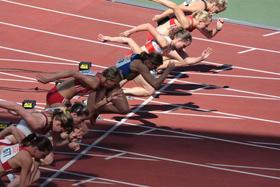 400 M Lauf Zeit Frauen